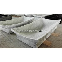 Carrara Rectangle Sink / Vessel Sinks