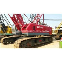 Good Condition Chinese Crawler Crane ,Low Price Hydraulic Mobile Crane FUWA QUY50C For Sale