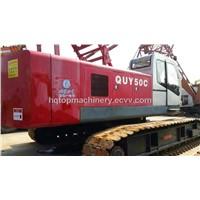 Provide CE Aproved High Quaity Crawler Crane FUWA Heavy Crane,Used 50t Mobile Crane