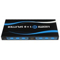 1x 8 HDMI Splitter 3D TV Supported