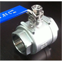 304 sanitary stainless steel 2pc ball Valve