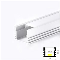 LED Aluminum Profile Cabinet Strip Light with Diffuser