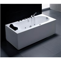 Lucite acrylic Massage bathtub