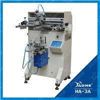 one color cylindrical pen and mug screen printing machine for sale