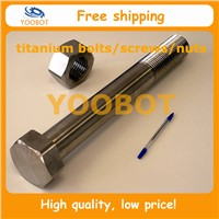 GR2 GR5 Titanium Hexagon Head Bolts With Low Price