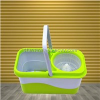 cotton rotating plastic mop with bucket set