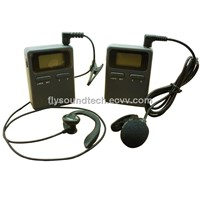 Wireless lapel microphone system