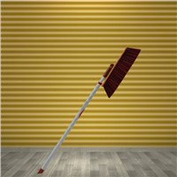 multifunction Broom to clean roof and corner