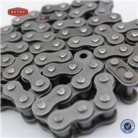 High Quality Four sides riveting natural color motocycle chain in China