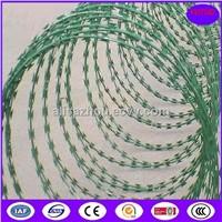 Epoxy Concertina Barbed Tapes razor barbed wire