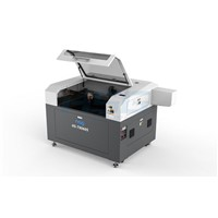 Motorized up-down table engraver with rotary attachment HS-T9060S