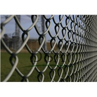 chain link fence vinyl coated