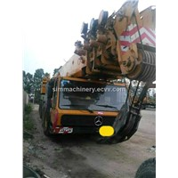 Used condition Krupp 200t all terrain crane second hand krupp 200t truck crane for sale