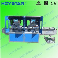 4 color egg tray pad printing machine with conveyor table