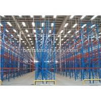 L2700*D1000*H6000 blue orange color steel heavy duty pallet racking system
