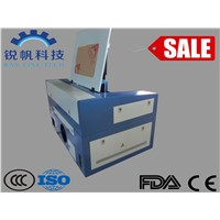Rubber Sheet Industry Laser Cutting Machine RF-5030-CO2-50W with High Precision