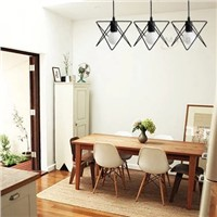 Energy Saving Light Source and Contemporary Type retro metal pendant lamp for wholesaler