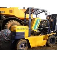 Used KOMATSU 5T  Forklift with Diesel Engine KOMATSU 5T  Forklift