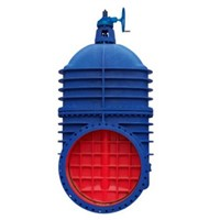 Cast Iron Big Size Non Rising Gate Valve