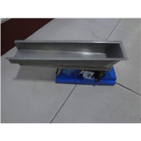 Food processing electromagnet conveyor vibratory feeder