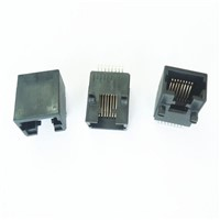 SMT  RJ45 connector UL/CE / ROHS SMT 8P-10PIN Ind Temp connector