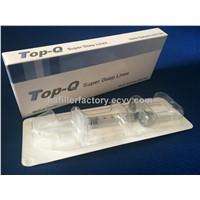 TOP-Q -China Top quality Pure&Stable Cross-linked  Hyaluronic Acid Dermal Filler ( Super Deep Line)
