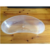 plastic kidney dish /kidney trays 700ml ,transparent color