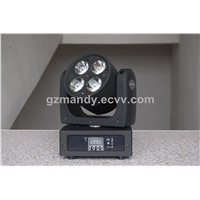 4in1 RGBW LED Super Brightness 4bulbs Mini Moving Head Beam Light (MD-B042)