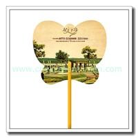 Custom advertising fan, PP Plastic hand fan, cheap free PVC fan for promotion