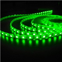 DC12 V Flexible LED Light 30LEDs Per Meter SMD5050 Green Color