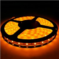 DC12V Flexible LED Strip Light 60LEDS Per Meter SMD3528 Yellow Color