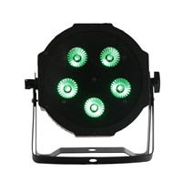 High Quality 5*18W 6IN1 RGBAW UV MEGA LED Par Light,Americal Dj LED Par Can for Stage Event Party