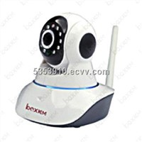 P2P network IP Camera Wireless with WPS, Two Way Talk, Email Notifications, TF Card
