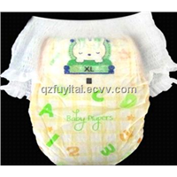Disposable pull up baby diaper pants with low price high quality