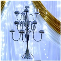 IDA  metal candle holder for wedding party event (IDACH03)