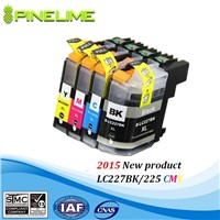 Compatible brother inkjet cartridge LC223 / LC225 / LC227 used in DCP-J4120DW,MFC-J4420DW
