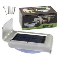 Solar Energy 16 LEDs Solar Power LED Wall Light With Light Sensor and PIR Motion Sensor