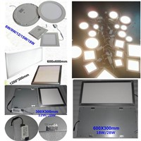 18W 600x300 High Power Square LED Panel Light