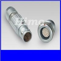 metal 3B 30 pin lemo circular connector compatible for sensor and testing device