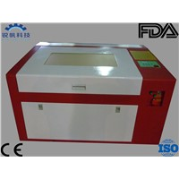 Ecnomic Co2 Mini Desktop Laser Cutting Machine RF-6040-CO2-60W with up and Down Shifting Table
