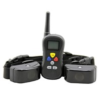 Remote Control 1-16 intensity levels of Vibrations And stimulation Collar For Dog Training PTS-008