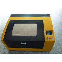 Economic type! Motorized up and down platform co2 40W laser engraver