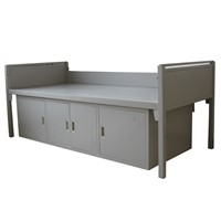 Home Furniture Wall Bed Cabinet Heavy Duty Stainless Steel Bed