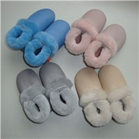 Soft Leather Sole Sheepskin Baby Shoes For 0-24 Months