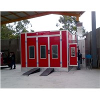 Oil Heating Auto Paint Room Standard Booth Spray Paint Room