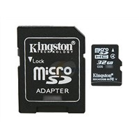Kingston MicroSDHC Card-Class 4 SDC4 4GB 8GB 16GB 32GB Memory Card