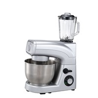 Multifunction stand mixer with blender
