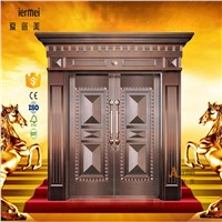 luxury exterior door front main entry copper door
