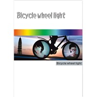 128 LED Programmable Wheel Light High Quality Bicycle Wheel Light