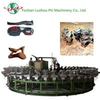 Semi-automatic Insole and Outsole Polyurethane Foam Injection Machine PU Shoe Sole Making Machine